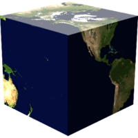 Earth Cube (To-Scale)