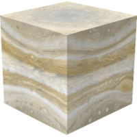 Jupiter Cube (To-Scale)